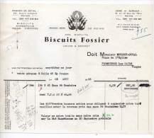 Biscuits Fossier, Lohe & Bécret, Reims - 1963 - Levensmiddelen