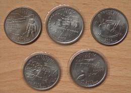 AMÉRIQUE 5 * Quart De Dollar USA 2002 - Monnaies