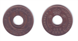 East Africa 1 Cent 1922 - British Colony