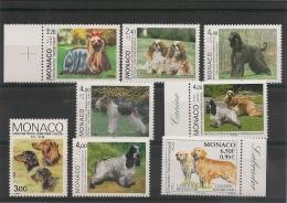MONACO  Années 1988/2000 Chiens ** Côte: 21,00 € - Collections, Lots & Series