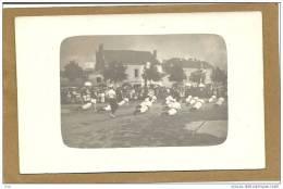 49 LES  VERCHERS  SUR  LAYON   CPA  PHOTO DEMONSTRATION  DE  GYMNASTIQUE  SUR  LA  PLACE    (  1080   Habitants   1936 ) - Non Classés