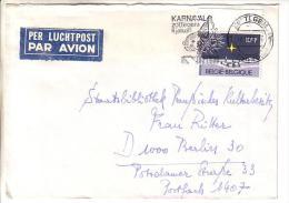 GOOD BELGIUM Postal Cover To GERMANY 1982 - Good Stamped: Christmas - Belgium