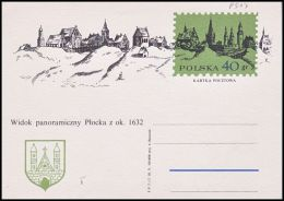"Poland 1971, Postal Stationery ""Tourism - Plock"" Cp.485, Mint - Stamped Stationery"