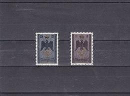 Liechetenstein  1956   Yt  313/14** - Liechtenstein