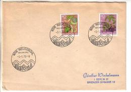 GOOD SWITZERLAND Postal Cover To GERMANY 1978 - Good Stamped: Berries / Pro Juventute - Suisse