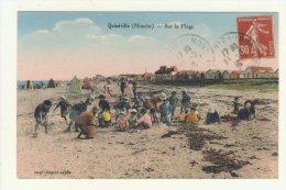 Quineville (50 Manche) Sur La Plage - France