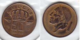 50 CENTIMES Bronze Baudouin 1957 FL - 1951-1993: Baudouin I