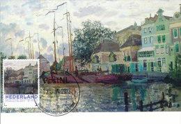 D14612 CARTE MAXIMUM CARD 2013 NETHERLANDS - CLAUDE MONET - DIKE AT ZAANDAM !! PLEASE READ !! - Impressionisme