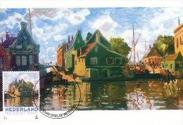 D14613 CARTE MAXIMUM CARD 2013 NETHERLANDS - CLAUDE MONET - CANAL IN ZAANDAM !! PLEASE READ !! - Impressionisme