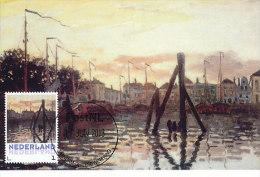 D14614 CARTE MAXIMUM CARD 2013 NETHERLANDS - CLAUDE MONET - PORT AT ZAANDAM !! PLEASE READ !! - Impressionisme