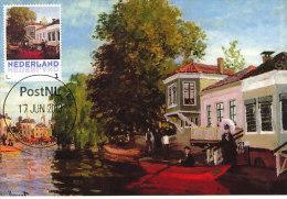 D14617 CARTE MAXIMUM CARD 2013 NETHERLANDS - CLAUDE MONET - THE ZAAN AT ZAANDAM !! PLEASE READ !! - Impressionisme