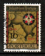 PORTUGAL     Scott # 865  VF USED - 1910-... Republic