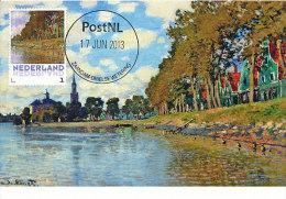 D14620 CARTE MAXIMUM CARD 2013 NETHERLANDS - CLAUDE MONET - ZAANDAM !! PLEASE READ !! - Impressionisme