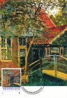 D14621 CARTE MAXIMUM CARD 2013 NETHERLANDS - CLAUDE MONET - LITTLE BRIDGE AT ZAANDAM !! PLEASE READ !! - Impressionisme