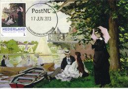 D14622 CARTE MAXIMUM CARD 2013 NETHERLANDS - CLAUDE MONET - GARDEN HOUSE ON THE ZAAN AT ZAANDAM !! PLEASE READ !! - Impressionisme