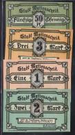 Deutschland  Gemeinde  -Wattenscheid  4 X   Notgeld  (ba9665 ) Siehe Scan  !