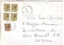 GOOD ITALY Postal Cover To SWITZERLAND 1979 - Good Stamped: Turrita - 6. 1946-.. Republic