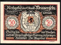 Deutschland  Gemeinde  -Weisenfels  Notgeld  (ba9679  ) Siehe Scan  ! - Lokale Ausgaben