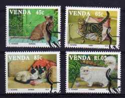 Venda - 1993 - Domestic Cats - Used/CTO - Venda