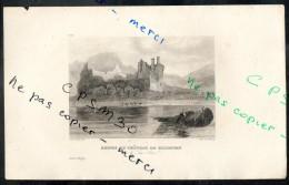 Eaux Fortes - N° 073 - RUINES Du CHATEAU DE KILCHURN Sur Le Lac Awel - Comté D´Argyle F.A.Pernot Del. / Alex Le Petit Sc - Prints & Engravings