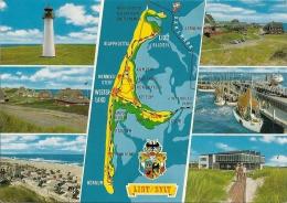 Map & Views  List/Sylt  Germany.  A-614 - Landkarten