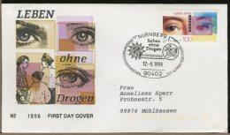 GERMANY - FDC -  LEBEN  -  DROGEN  -  DROGA  -  DRUGS  -  Siringa Pillole - Droga