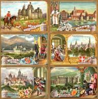 Liebigs Fleischextract *  Historische Schlösser *  Kpl. Serie - Liebig