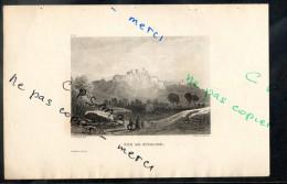 Eaux Fortes - N° 079 - VUE DE STIRLING. Comté De Stirling  F. A. Pernot Del. / Alex Le Petit Sc. - Prints & Engravings