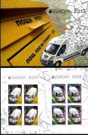 "BULGARIA/Bulgarien EUROPA 2013 ""Postal Vehicles"" Booklet** - 2013"