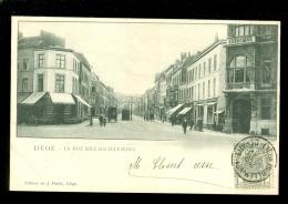 Liége - Luik    : La Rue Des Guillemins - Liege