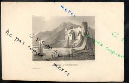 Eaux Fortes - N° 085 - CHATEAU D' INVERLOCHY. Comté D' Inverness - F. A. Pernot Del. / Alex Le Petit Sc. - Estampas & Grabados