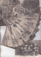 GENT (Gand) - EXPO 1913 - Compl reeks(25+1)De Graeve- Ommeganck Confrerie Royale St Michel -8 scans- zie beschrijving