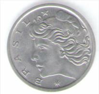 BRASILE 5 CENTAVOS 1976 - Brasile