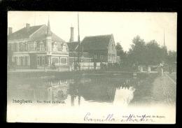 Iseghem (Izegem)  :   Vue Nord Du Canal - Izegem