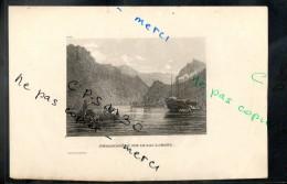 Eaux Fortes - N° 087 - EMBARCADERE SUR LE LAC LOMOND. Comté De Dumbarton - Sans Indication De Graveur - Prints & Engravings