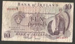 [NC] IRELAND - The CENTRAL BANK Of IRELAND - 10 POUNDS - Irlanda
