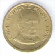 PERU 10 CENTIMOS 1986 - Perú