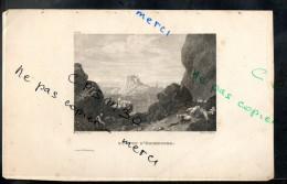 Eaux Fortes - N° 105 - 2eme VUE D' EDIMBOURG. Comté D´ Edimbourg - F. A. Pernot Del. / Skelton Fils Sc. - Prints & Engravings