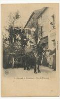 Brioux Cavalcade 7 Char Du Printemps  Cliché Furbeault Attelage Cheval - Brioux Sur Boutonne