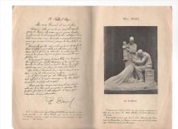 Le Pardon.ALBERT ROZE.4 Pages.(groupe En Bronze Volé Par Les Allemands) - Picardie - Nord-Pas-de-Calais