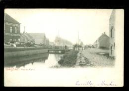 Iseghem (Izegem)  :   Vue Du Canal  -  Péniche - Izegem