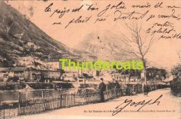 CPA 38 LA TRONCHE ET LE ST EYNARD - Grenoble