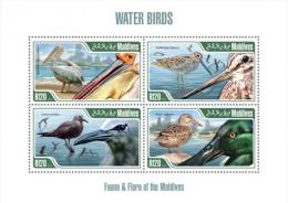 mld13203a Maldvis 2013 Bird s/s Pelican