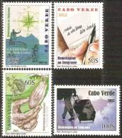 cv1202 Cabo Verde 2012 Emigrants 4v Ship Cocoa