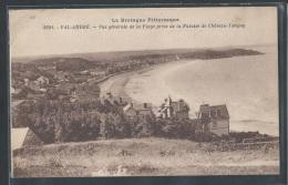 - CPA 22 - Val André, Vue Générale De La Plage Prise De La Falaise De Chateau Tanguy - Frankreich
