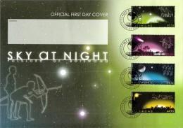 Botswana - 2009 Night Sky FDC # SG 1129-1132 - Botswana (1966-...)