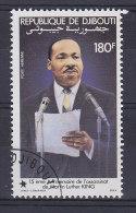 Djibouti 1983 Mi. 369      180 Fr Martin Luther King - Dschibuti (1977-...)