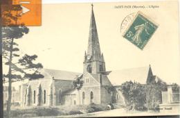 SAINT- PAIR  - L'Eglise , Trés Bon état ( Voir Scan ) - Saint Pair Sur Mer