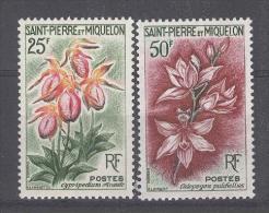SAINT-PIERRE-ET-MIQUELON  - Yv. Nr 362/363 - MH* - Cote 15,30 € - St.Pierre Et Miquelon