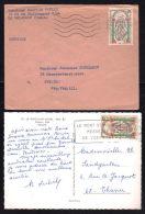 N° 1482 - 0.25 Millénaire Mont St Michel / 2 Documents....imprimé Pour L'allemagne & C.P. Oblitération & Vue Concordante - Postmark Collection (Covers)